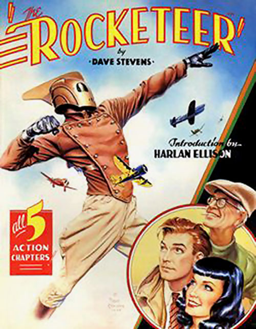 Rocketeer poster-style cover