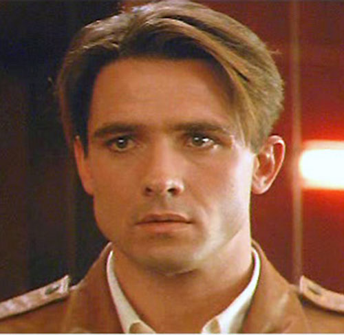 Rocketeer (movie version) (Billy Campbell) face closeup