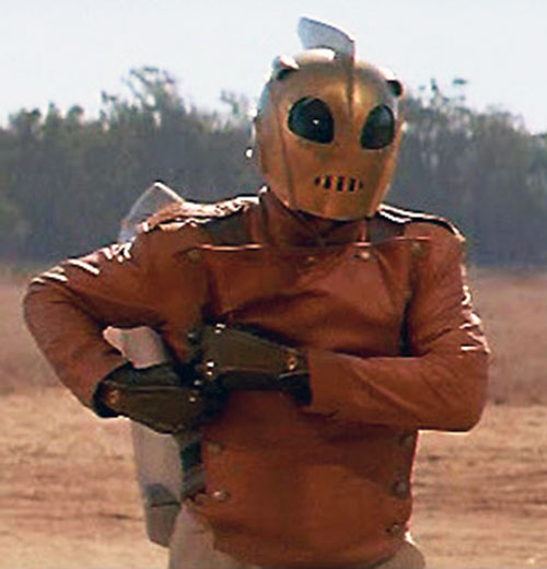 Rocketeer (movie version) (Billy Campbell) helmet and jacket