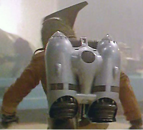 Rocketeer (movie version) - closeup on the jetpack