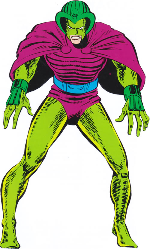 Cobra (Marvel Comics) from the older handbook