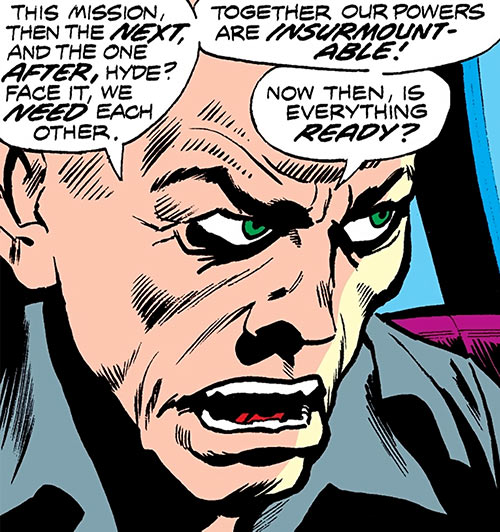 Cobra (Marvel Comics) face closeup