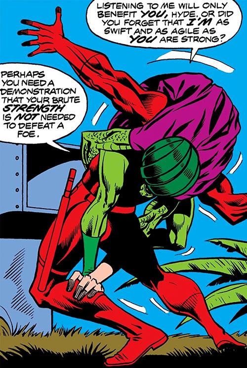 Cobra (Marvel Comics) vs. Daredevil