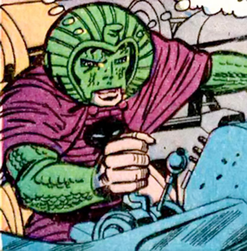 Cobra (Marvel Comics) piloting