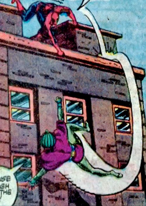 Cobra (Marvel Comics) vs. Spider-Man