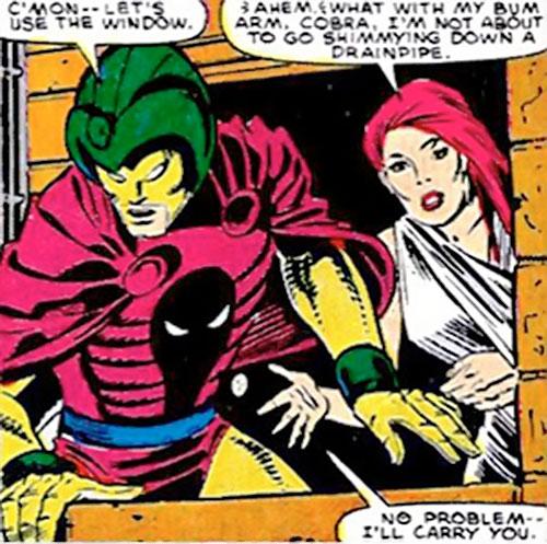 Cobra (Marvel Comics) and Diamondback