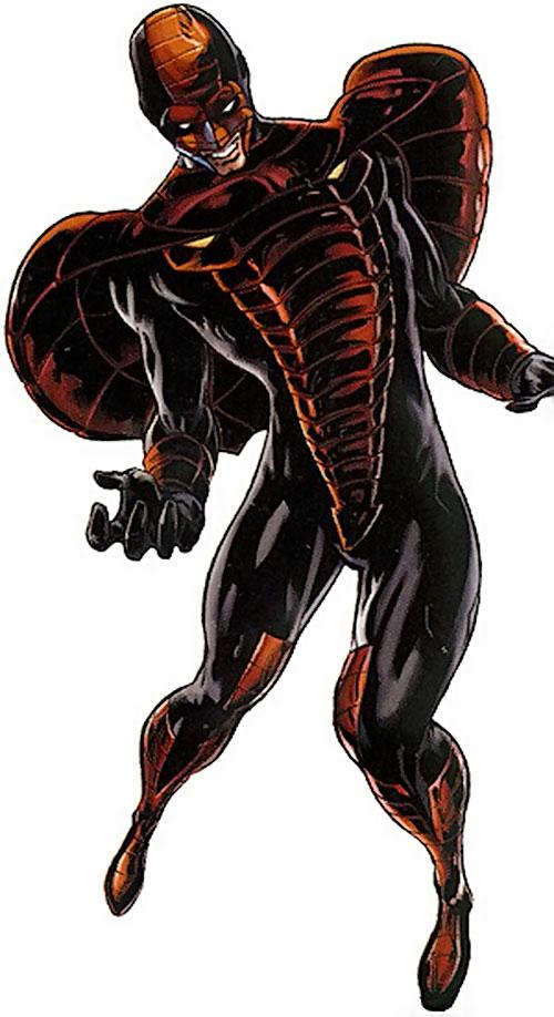 Cobra (White Tiger enemy) (Marvel Comics) in a strange pose