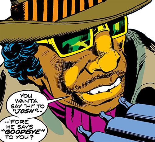 Cockroach Hamilton (Marvel Comics) (Luke Cage enemy) face closeup
