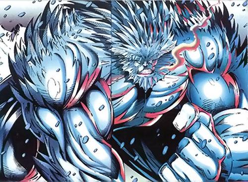 Coldsnap of Brigade (Image Comics)