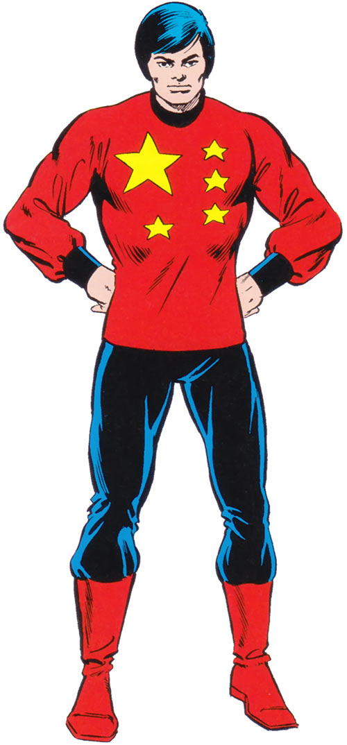 Collective Man (Marvel Comics) - 1980s costume