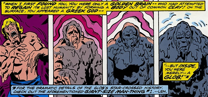 The Collector recaps the history of the Glob aka Golden Brain