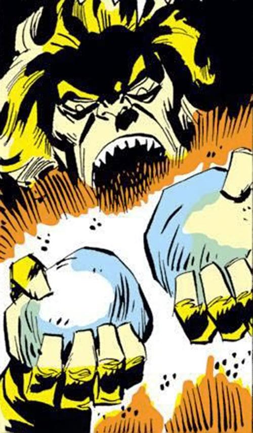 Collector of the Elders (Avengers enemy) (Marvel Comics) vampire bats stones