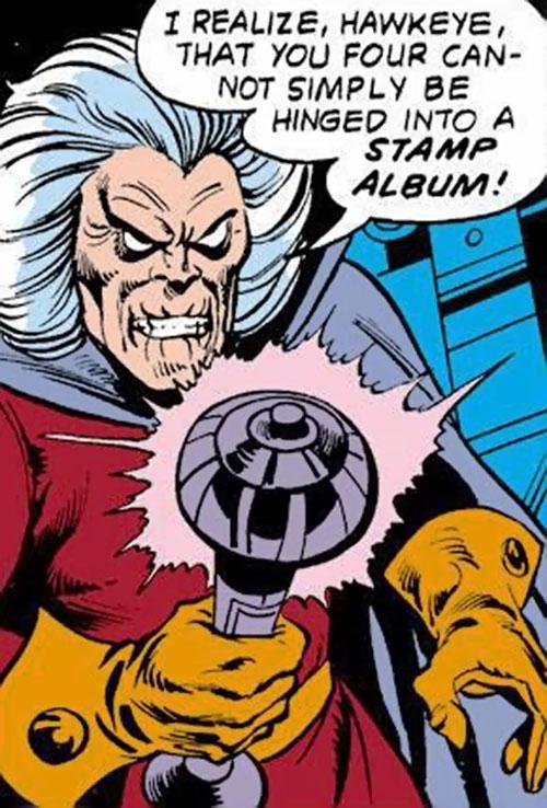 Collector of the Elders (Avengers enemy) (Marvel Comics) Vandarian power wand