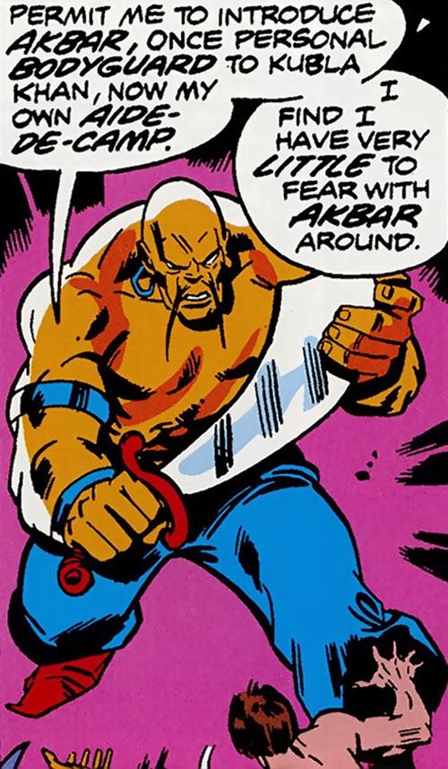 Collector of the Elders (Avengers enemy) (Marvel Comics) - Akbar