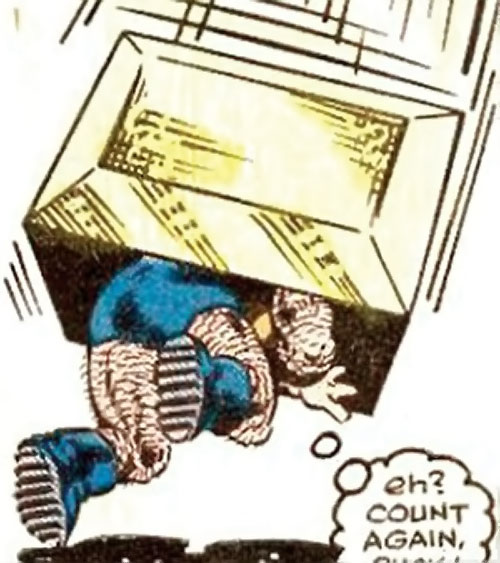 Collector of the Elders (Avengers enemy) (Marvel Comics) - boxer vs. Puck