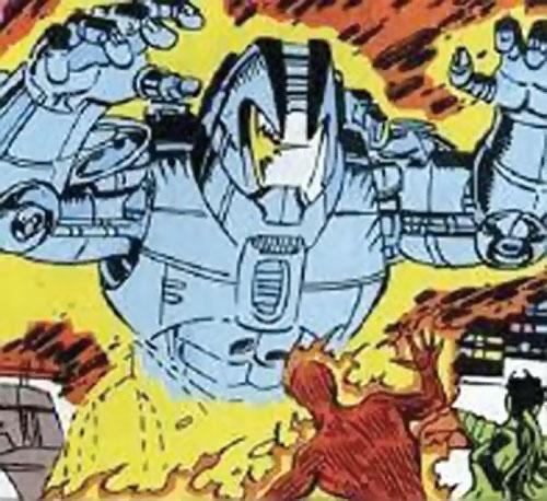 Collector of the Elders (Avengers enemy) (Marvel Comics) - Drakion destructor vs. the Human Torch