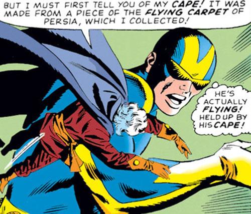 Collector of the Elders (Avengers enemy) (Marvel Comics) vs. Giant-Man