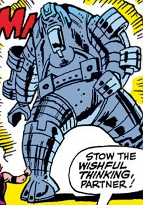 Collector of the Elders (Avengers enemy) (Marvel Comics) giant robotoid