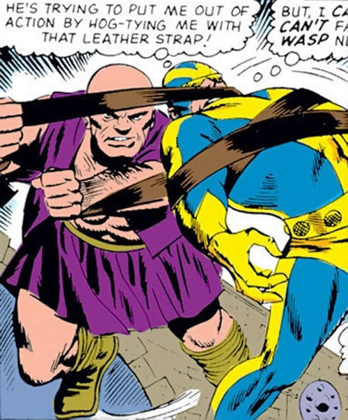 Collector of the Elders (Avengers enemy) (Marvel Comics) - giants vs. Giant-Man