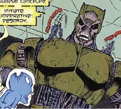 Collector of the Elders (Avengers enemy) (Marvel Comics) robot sentry