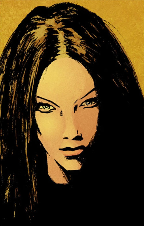 Colleen Wing (Marvel Comics) portrait