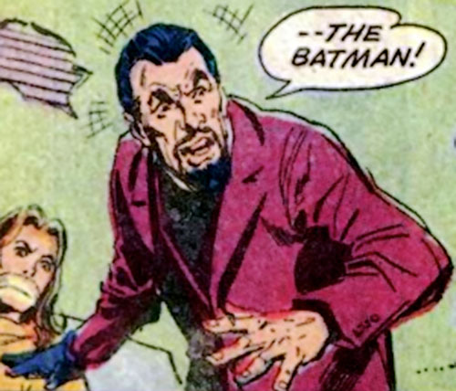 Colonel Sulphur (Batman enemy) (DC Comics) and a hostage