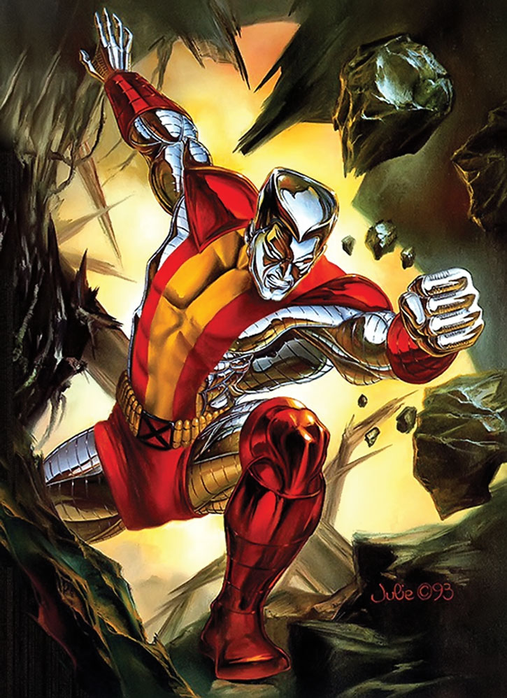 Colossus of the X-Men by Julie Bell