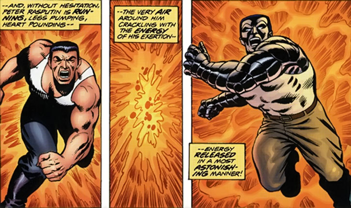 Colossus transforms and charges in