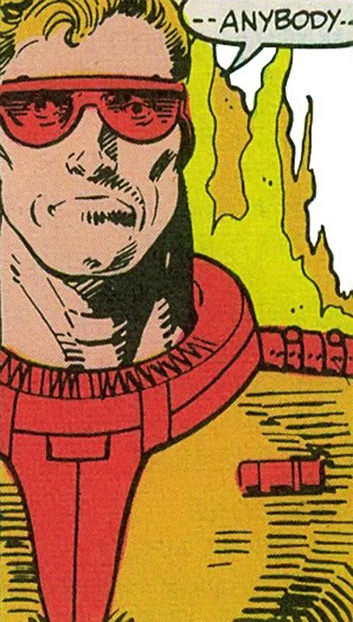 Captain / Commander Blaze of the Supremacists (Marvel Comics) (Black Panther enemy) closeup