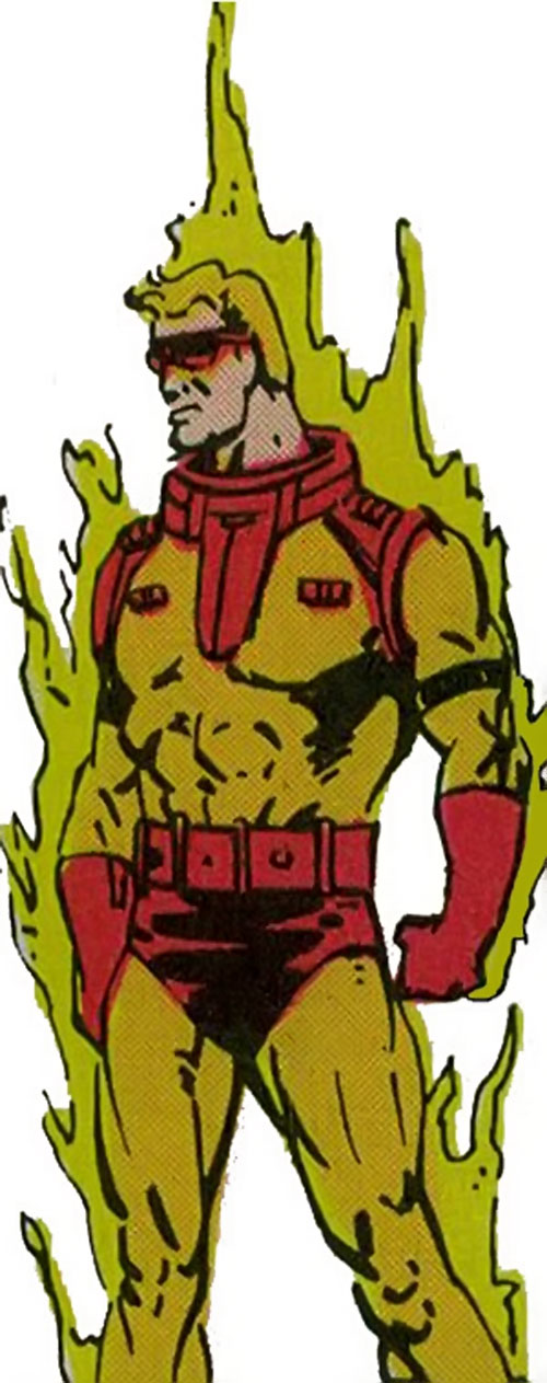 Captain / Commander Blaze of the Supremacists (Marvel Comics) (Black Panther enemy)