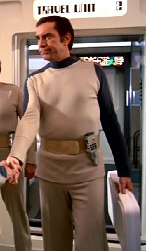 Commander Koenig (Martin Landau) (Space 1999) in uniform