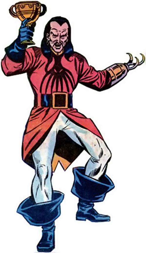 Commander Kraken (Marvel Comics) raising a precious cup