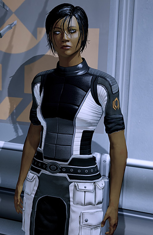 Commander Shepard (Mass Effect 2) Cerberus whites