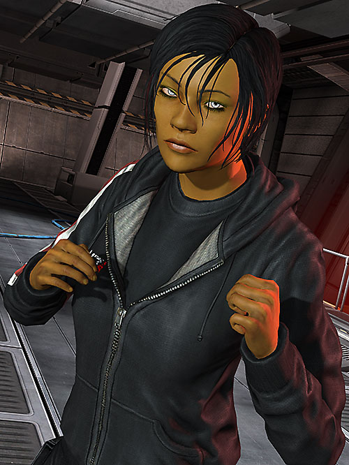 Commander Shepard (Mass Effect 3) boxing