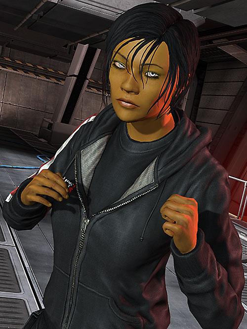 Commander Shepard (Mass Effect 3) boxing