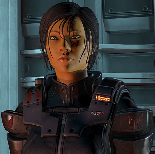 Commander Shepard (Mass Effect 3) Ajax body armor no helmet