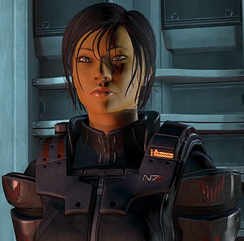 Commander Shepard (Mass Effect 3) Ajax body armor no helmet