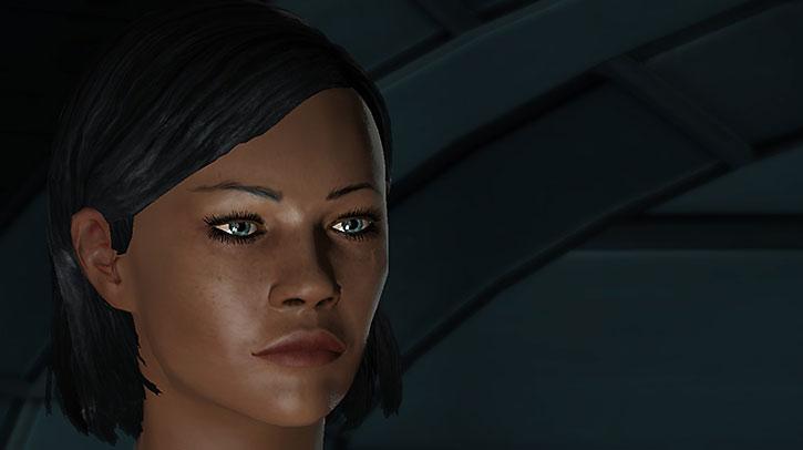 Commander Shepard portrait