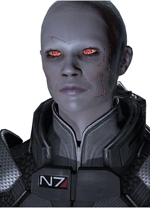 Commander Shepard (Mass Effect 2) (Mandala) (zombie)