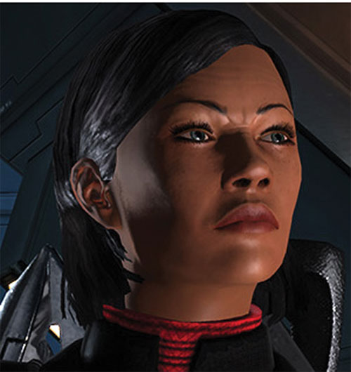 Commander Shepard (Mass Effect 1) (Mandala) disapproves face