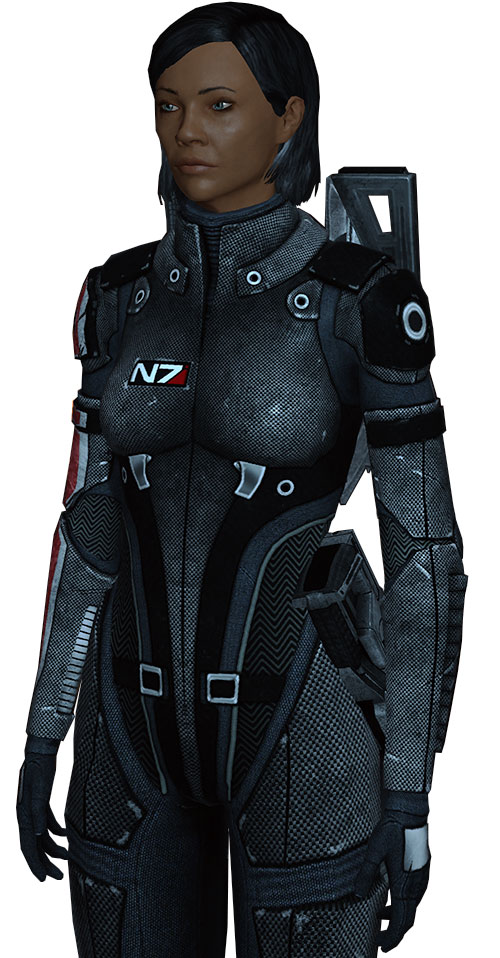 Commander Shepard (Mass Effect 1) (Mandala)