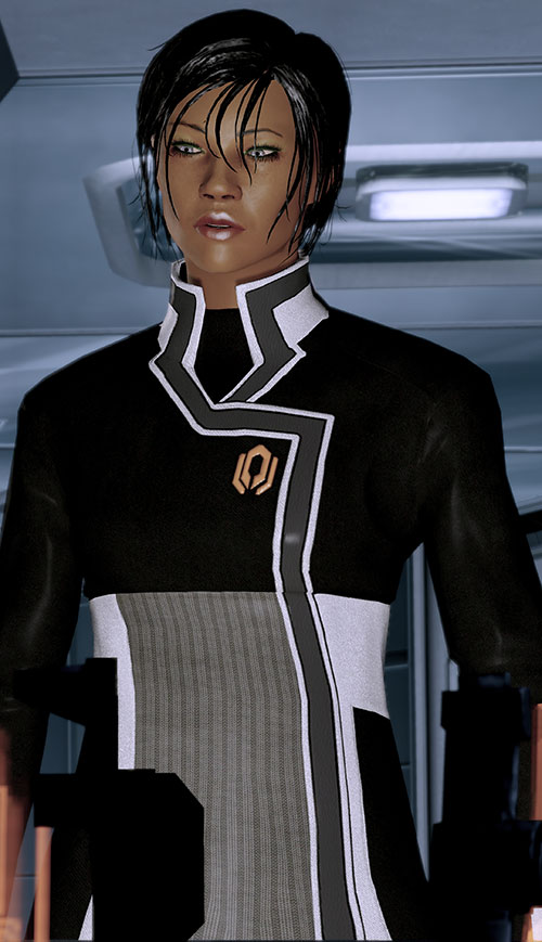 Commander Shepard (Mass Effect 2 late) Cerberus uniform