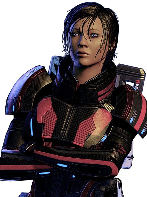 Commander Shepard (Mass Effect 2 late)