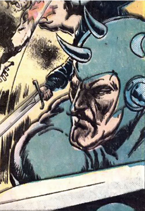 Companions of Beowulf (DC Comics) - Unferth