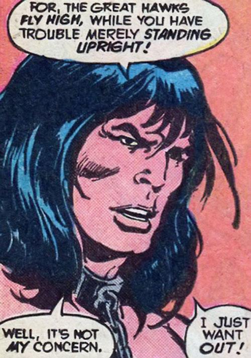 Conan Marvel Comics Character Profile Writeupsorg