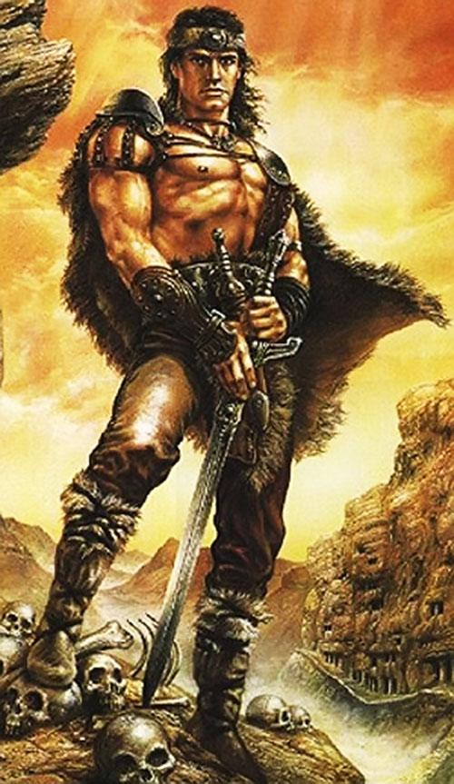 Conan the barbarian cover art