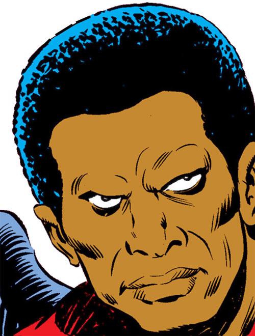 Condor (Nova enemy) (Marvel Comics) face closeup