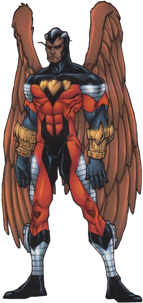 Condor (Nova enemy) (Marvel Comics) 2010 handbook art