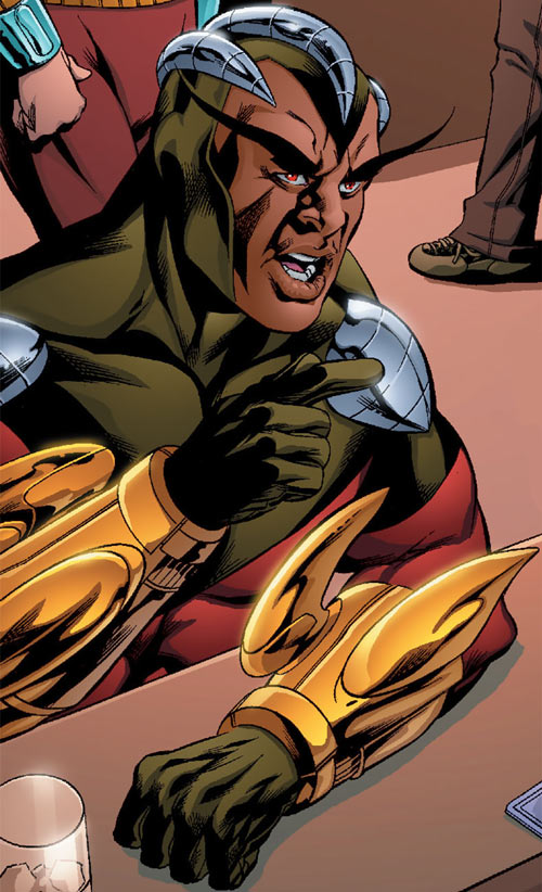 Condor (Nova enemy) (Marvel Comics) 2008 art