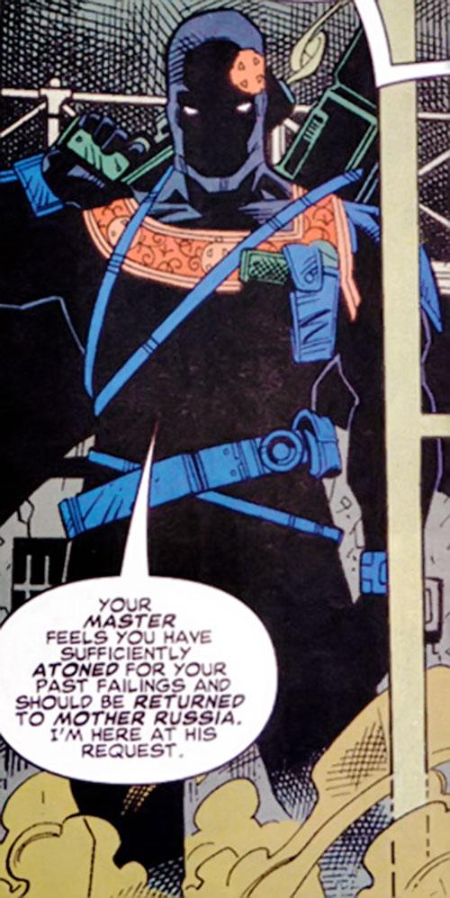 Confessor of the KGB (Maverick enemy) (Marvel Comics)